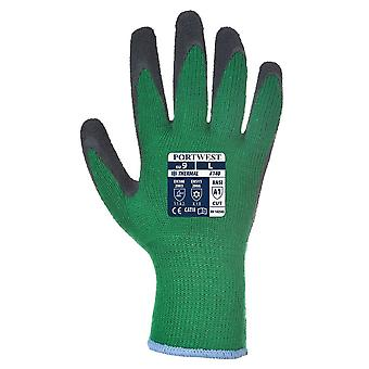 Portwest A140 Thermal grip latex handschoenen-12 pack