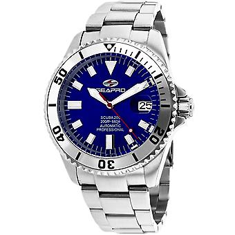 Seapro Men's Scuba 200 Blue Dial Watch - SP4316