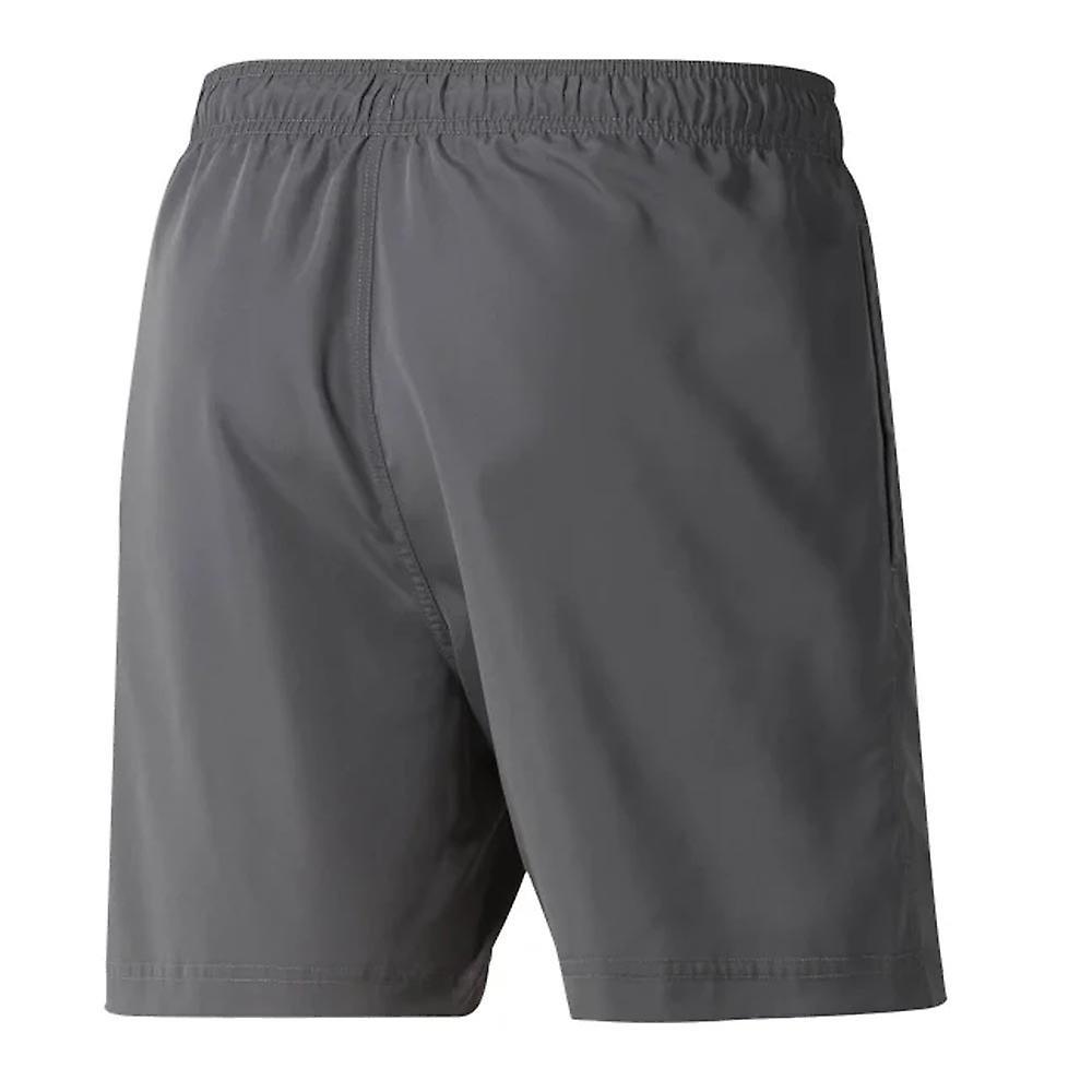 Reebok Beachwear Basic Mens Swimming Summer Pool Short Grey
