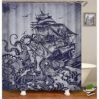 Release The Kraken(!) Shower Curtain
