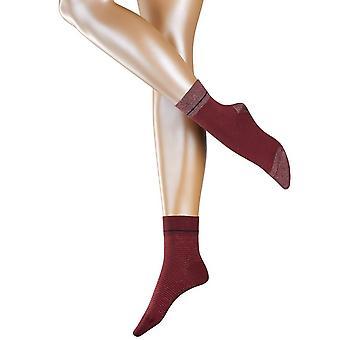 Esprit Nice stripe og dot 2-pakning sokker-garnet rød