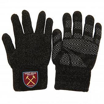 West Ham United FC vuxna Unisex lyx touchscreen handskar
