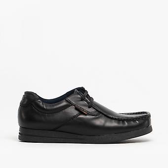 Base Lontoon tapahtuma miesten nahka Moccasin kengät musta