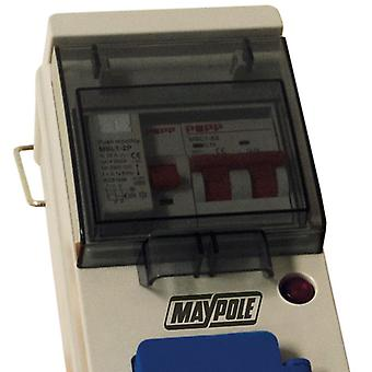 Maypole Mobile Mains Power 230v with Twin USB 13A - 15m (Model No. MP3766)