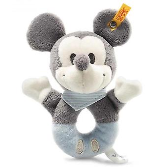 Steiff Mickey Mouse rattle 13 cm