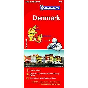 Denmark  Michelin National Map 749