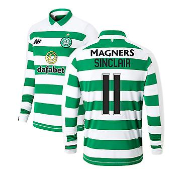 2019-2020 Celtic Home Long Sleeve Shirt (Sinclair 11)