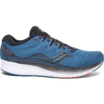 Saucony Ride ISO 2 Mens | SS20 | Blue/Black/White