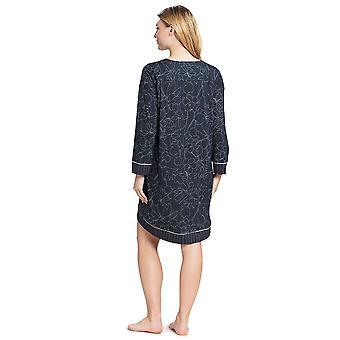 Feraud 3191066-11998 Donne's Couture Smokey Blue Cotton Sleep Camicia Notte