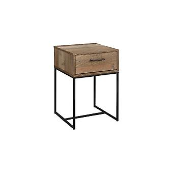 URBAN 1 DRAWER NARROW BEDSIDE RUSTIC