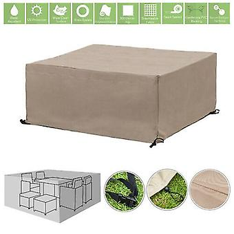 Stone 8 Seater Cube Outdoor Waterdichte Tuin Patio Meubelcover Protector