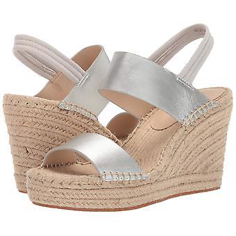 Kenneth Cole New York Womens 7 Olivia Simple Leather Peep Toe Casual Espadril...