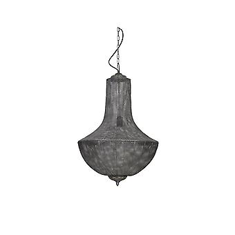 Light & Living Hanging Lamp 47x72cm Keladi Antique Silver
