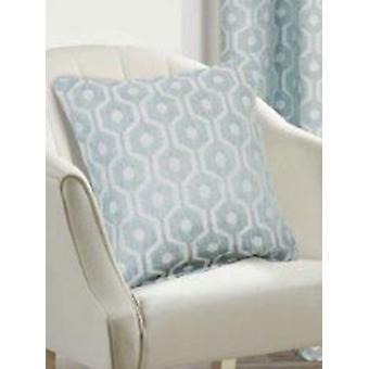 Belle Maison Geometric Cushion Cover - Milano Range, Duck Egg