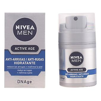 Anti-Wrinkle Cream Men Active Age Nivea