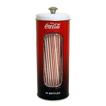 Coke straw holder (with 50 straws!)