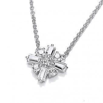 Cavendish French Burning Bright Cubic Zirconia Star Necklace