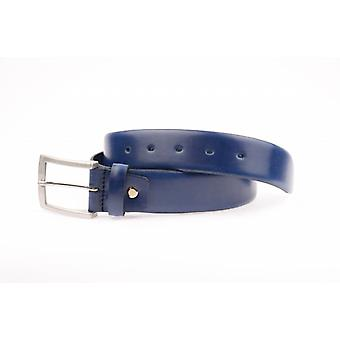 Blue Pantalon Belt