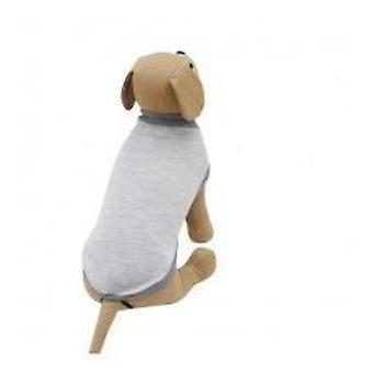 Yagu ljus grå mjuk Jersey (hundar, hundkläder, tröjor och hoodies)