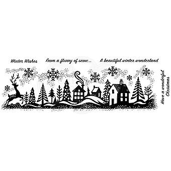 Woodware Polymer Stamp Clear Singles Winter Wonderland | Set of 5