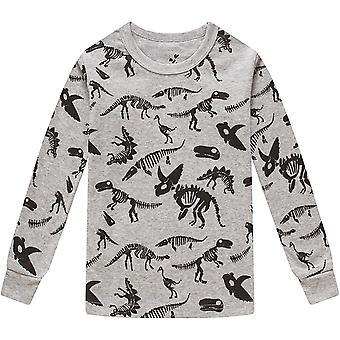 Pyjama's voor Boys Kids Dinosaurs Slaapkleding Christmas Baby Girls Kleding 4 Piec ...