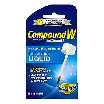 Compound w liquid wart remover, 0.31 oz