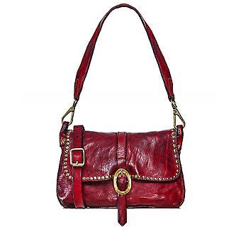 Campomaggi Studded Leather Shoulder Bag