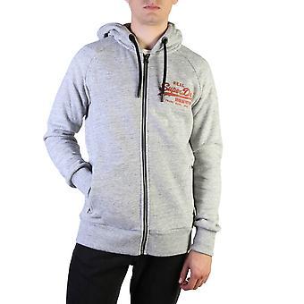 Superdry Original Herren Herbst/Winter Sweatshirt - grau Farbe 37794