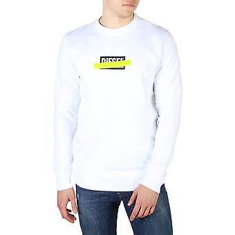 Diesel Original Men All Year Sweatshirt - White Color 55101
