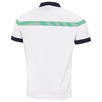 Callaway Golf Mens 2020 Lineaire print vochtafvoerend Golf Polo Shirt