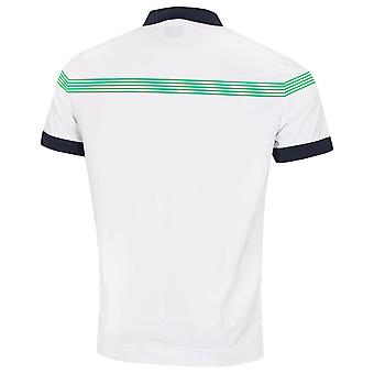 Callaway Golf Mens 2020 Linear Print Moisture Wicking  Golf Polo Shirt