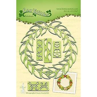 LeCrea - Lea'bilitie Wreath all seasons Cut and Embossing Die 45.2267