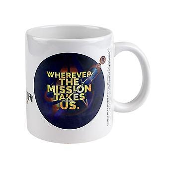 Star Trek, Mug - Wherever the Mission Takes Us