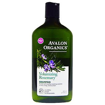 Avalon organics shampoo, volumizing rosemary, 11 oz