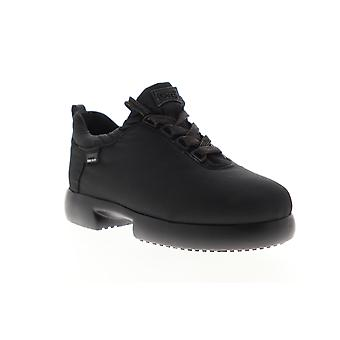 Camper Fiss  Womens Black Canvas Lace Up Low Top Sneakers Shoes