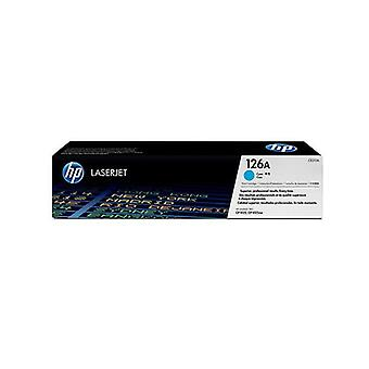 Hp 126A Cyan Toner 1000 Page Yield