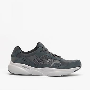 Skechers Meridian Mens Trainers Charcoal