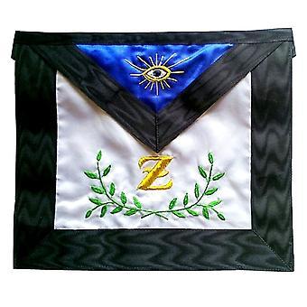Masonic skotske rite satin frimurerisk forklæde - aasr - 4.