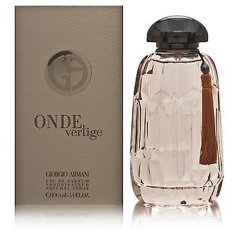 Onde vertige על-ידי ג'ורג'יו ארמני לנשים 3.4 עוז או בתרסיס parfum