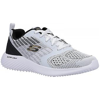 Skechers Bounder Verkona Lace Up Sports Textile/synthetic Standard Fitting Shoes
