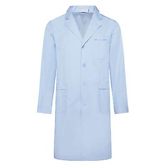 Allthemen Men's Medical Coat Blue Long Sleeves Medical Health Overalls