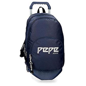 Pepe Jeans Uma Backpack - 44 cm - 20.46 liters - Blue 63924N5