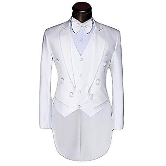 Allthemen Men's Tuxedo Suit Wedding Banquet Slim Fit 2-Piece Suit Tops&Vests