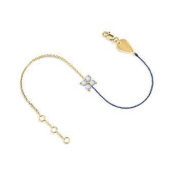 Bilezik Peri 18K Altın ve Elmas, Yarım İplik Yarım Zincir - Sarı Altın, BlueJean