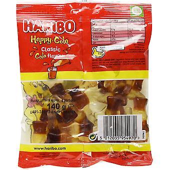 HARIBO Happy Cola 1.7kg, bulk sweets, 12 packs of 140g