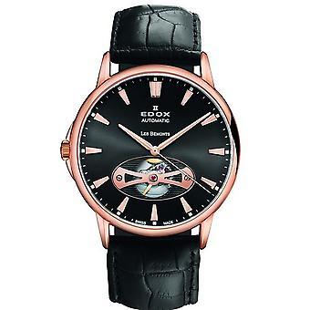 Edox Watches Les Bémonts Men's Watch Open Heart 85021 37R NIR