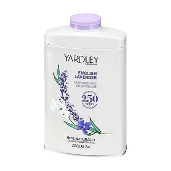 Yardley London Perfumed Talc 200g - English Lavender