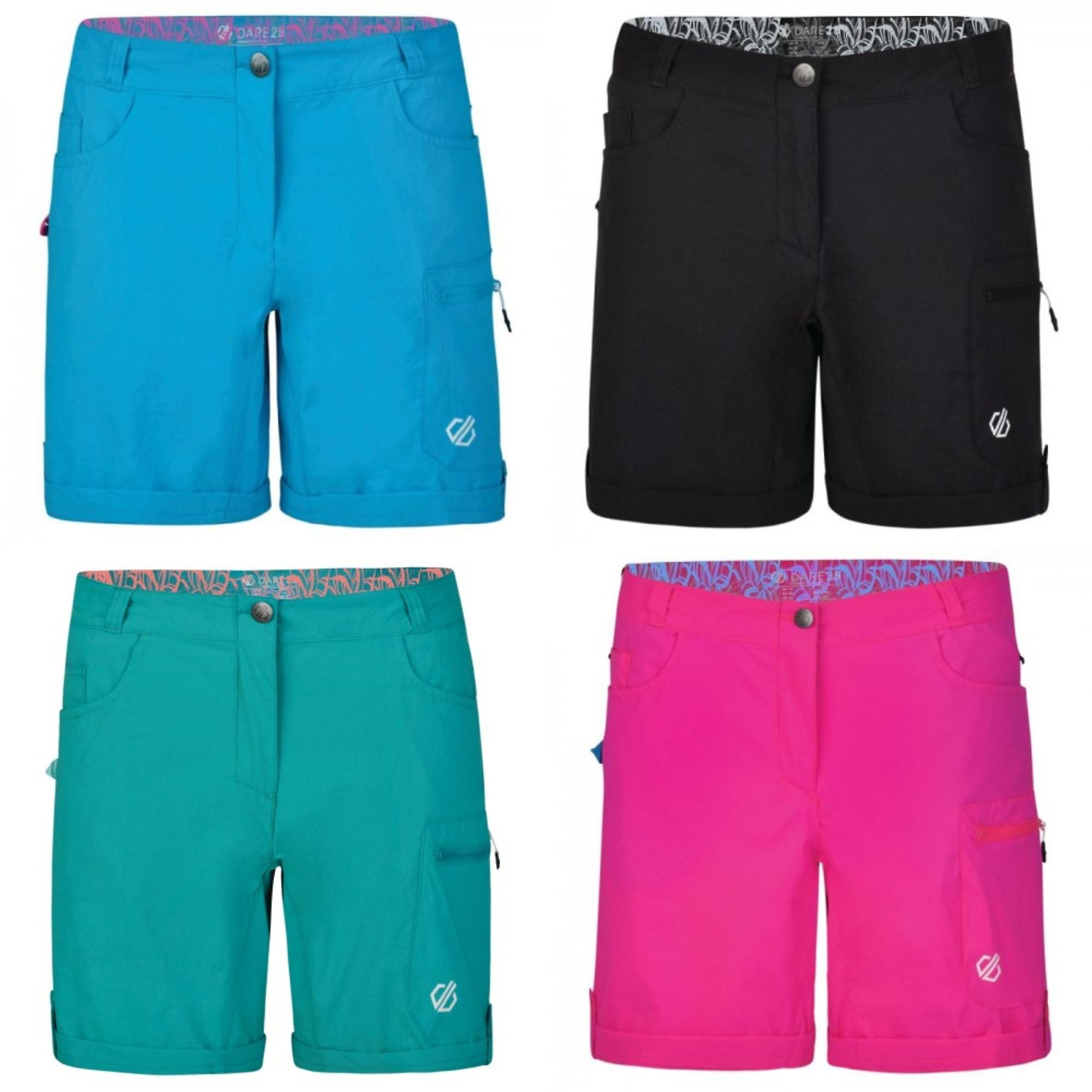 Dare 2b Women/'s Melodic II Multi Pocket Walking Shorts Grey