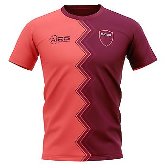 2020-2021 Qatar Away Concept Football Shirt