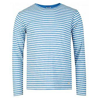 Armor Lux Long Sleeved Fine Striped T-Shirt